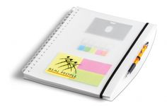 Herald A4 Notebook NB-9337 HERALD A4 NOTEBOOK PP / 28.9 ( l ) x 20.9 ( w ) x 1 ( h ) 70 lined pages / excludes pen business card / ID holder