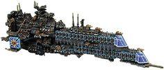 Uber Battleship - Battlefleet Gothic