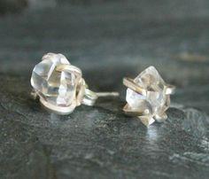 Herkimer Diamond Earrings