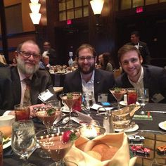 Three of the Gavin boys! Enjoying our lunch at the #HBJfast100!