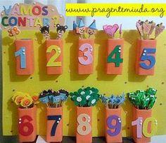 Math activity for toddlers Preschool Classroom, Preschool Learning, Kindergarten Activities, Classroom Decor, Toddler Activities, Learning Activities, Preschool Activities, Math For Kids, Crafts For Kids