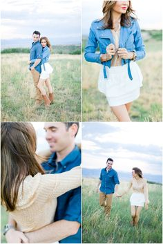 One Hitched Lane features a Highlands Ranch Colorado Engagement Session by Brumley & Wells