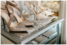 Weddings Details #wedding #shoes #bridaltiara #channel #badgleymischka