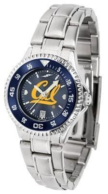 California (UC Berkeley) Golden Bears Competitor AnoChrome Ladies Watch with Steel Band and Colored Bezel by SunTime. $88.95. Officially Licensed California Golden Bears Women's Stainless Steel Dress Watch. Links Make Watch Adjustable. Women. Stainless Steel. Water Resistan. Showcase the hottest design in watches today! The functional rotating bezel is color-coordinated to compliment the California (UC Berkeley) Golden Bears logo. The Competitor Steel utilizes a...