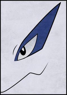 #249 Lugia - Legendary Pokemon Poster Art Print