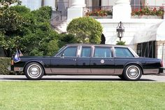 41st President - George H. W. Bush presidential limousine.
