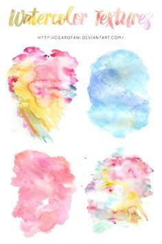 How To Make A Galaxy Watercolor Background With Procreate For