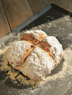 Classic soda bread recipe from River Cottage Every Day by Hugh Fearnley-Whittingstall Cooked Savoury Baking, Bread Baking, Bread Recipes, Baking Recipes, Baking Ideas, Soup Recipes, Recipies, Hugh Fearnley Whittingstall, Babka Recipe