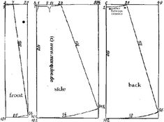 This is an authentic TRULY VICTORIAN costume sewing pattern for a 1901 Split skirt pattern which was used for shooting or sports in victorian life. Description from patterni.net. I searched for this on bing.com/images