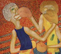 Light Flyweight/Maarit Korhonen, acrylic, oilsticks, canvas, 65cm x 73cm Dark Paintings, Original Paintings, Online Painting, Artwork Online, Dancer In The Dark, Autumn Painting, Original Art For Sale, Artists Like, House Painting