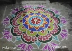 Advanced level rangolis | www.iKolam.com