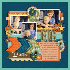 He's Rad by Traci Reed Template Set 146 by Cindy Schneider DJB Number Ten Pencil font by Darcy Baldwin