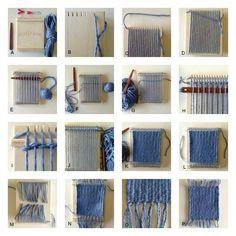 purl and loop weaving board