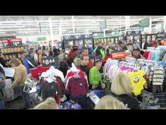 WILD AND CRAZY WALMART SHOPPERS ON BLACK FRIDAY 2013. CHECK OUT THE ZOO. THE GUY WHO MADE THIS VIDEO WAS THROWN OUT OF WALMART.....