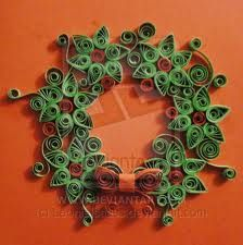 Quilled Christmas Wreath by