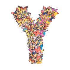 Buchstabe - Letter Y Rooster, Butterflies, Heaven, Monogram, Alphabet, Binder, Letters, Sky, Heavens