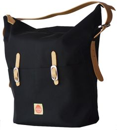"The Pacapod Idaho hobo diaper bag has individual ""pods"" to keep anal parents super organized"