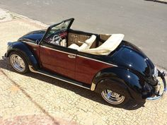 Perfect for a summer day! VW beetle convertible. repinned by www.gorara.com