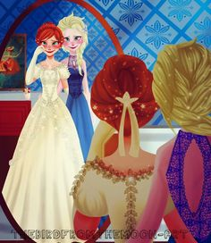 """""""Oh Elsa, Mom would've loved this!"""""""