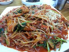 Steamed monkfish(아구찜, agujjim) #KoreanFood