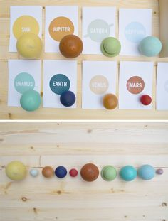Solar System in a Box - fun diy with printables