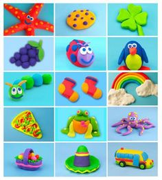 Play Doh Video for Kids Play Doh Games, Play Doh Art, Play Doh For Kids, Play Doh Toys, Art For Kids, Clay Crafts For Kids, Kids Clay, Toddler Crafts, Playdough Activities