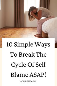 The ultimate self improvement guide on what causes self blame? Why do I blame myself for things that are not my fault? Why do I keep thinking that everything is my fault? How do I get rid of blame? What can I do instead of blame? Why is blame bad?