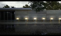 Barcelona Pavilion 3 by the-f-render