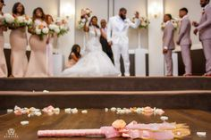 Neesha and Montrel's Chic and Lux Texas Wedding at the Piazza Black Love Couples, Difficult Relationship, Japanese Wedding, Love Story, Texas, Flower Girl Dresses, Chic, Wedding Dresses, Annie