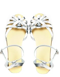 faithless leather sandals / asos
