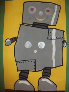 robots, good for mixing gray