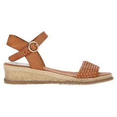 Buy Jigsaw Jay Espadrille Sandals, Tan Online at johnlewis.com