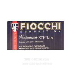Fiocchi 44 Magnum Ammo - 25 Rounds of 240 Grain XTP JHP Ammunition #44Magnum #44MagAmmo #Fiocchi #FiocchiAmmo #Fiocchi44Mag #JHP #ExtremaXTPLine