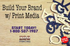 Building your brand online is essential, however just as important is your brand in print. Your brand in print media has to stand out and on point because its tangible and will be often kept and referred to later.  Zoo Printing Wholesale Printing. Sign Up Free Today! http://zooprint.us/6ISkL #Printing #GraphicDesigners #WholesalePrinting #ZooPrinting