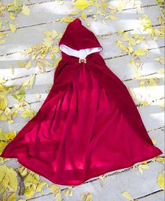 DIY: Little Red Riding Hood Costume/Cloak 2T-4T |do it yourself divas