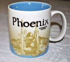Starbucks City Mug Phoenix 2011