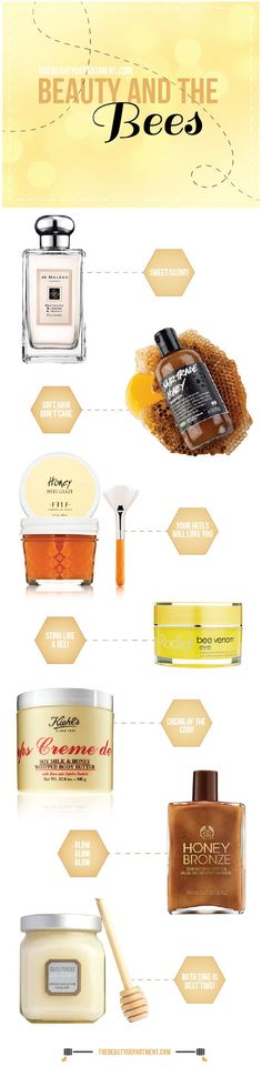 Winter dryness? No problem, honey! Click the photo to read all about our 7 fave honey-themed beauty buys.