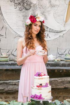 Bohemian bridal shower | K+B Photo | see more on: http://burnettsboards.com/2015/11/fun-flirty-bridal-shower/