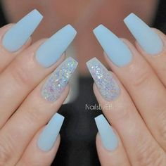 32 Stunning and Trendy Matte Coffin Nails Design Sumcoco Coffin Nails coffin nails matte Matte Acrylic Nails, Coffin Nails Glitter, Acrylic Nail Designs, Glitter Gel, Glitter Photo, Silver Glitter, Winter Acrylic Nails, Glitter Balloons, Glitter Flats