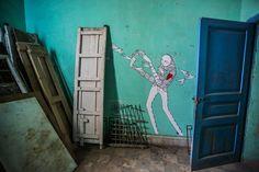 Know Hope (USA) #streetart #erriadh #djerba #tunisia #acrylic