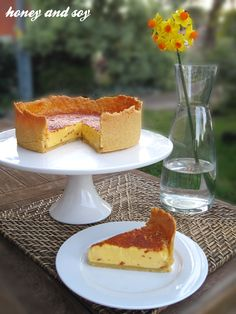 Marcus Wareing's Classic English Custard Tart. He made this for the Queens 80th Birthday Lunch.
