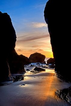 The Gates of Dusk, Port Orford Oregon
