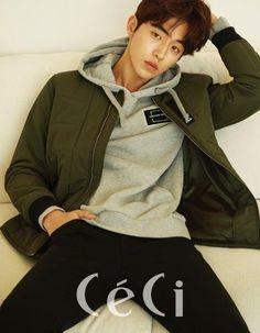 Nam Joo Hyuk for Ceci Korea February Hot Korean Guys, Korean Men, Asian Actors, Korean Actors, Park Hyun Sik, Nam Joo Hyuk Wallpaper, Jong Hyuk, Park Bogum, Song Joong