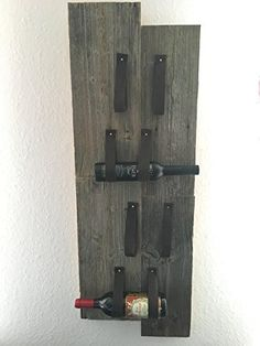 Holzplanken Weinregal: Amazon.de: Handmade