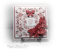 playing with the new christmas card creator dies...christmas present