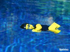 Para el calor, un buen chapuzón | Geekoteca Labs | Lego