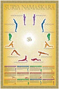 49 best sun salutation images  yoga yoga poses yoga