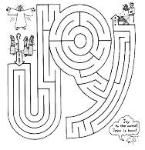 Awesome site with all kinds of printable Christian Christmas (and other seasons) coloring and activity pages. Joyful maze