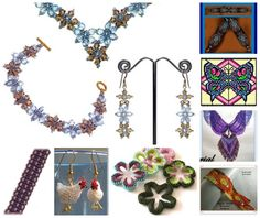 Featured patterns in recent Bead-Patterns.com Newsletter!