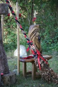 Handfasting broom